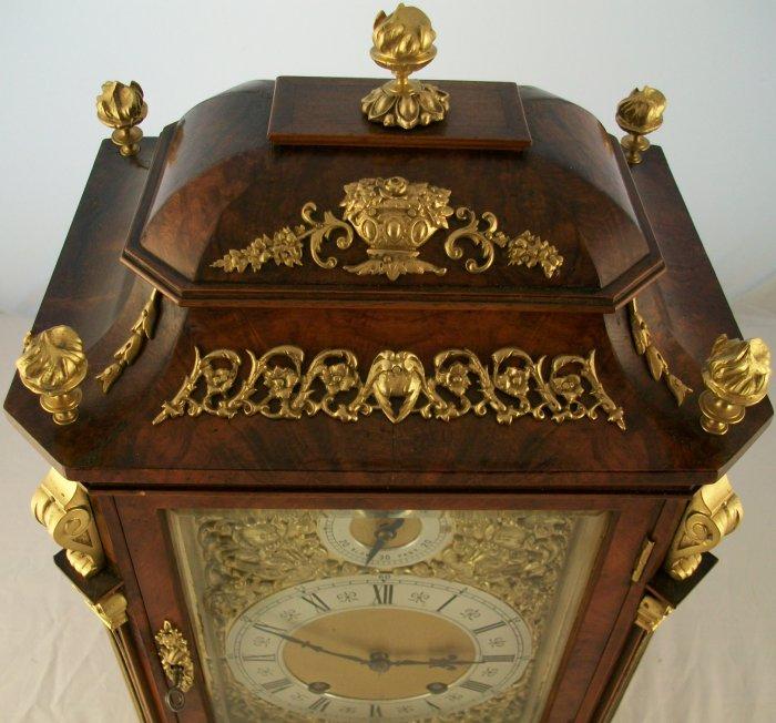 Antique Lenzkirch German Mantel Clock Ian Burton Antique